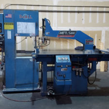 Automatic aluminum circle saw - Marco Steel & Aluminum Inc.